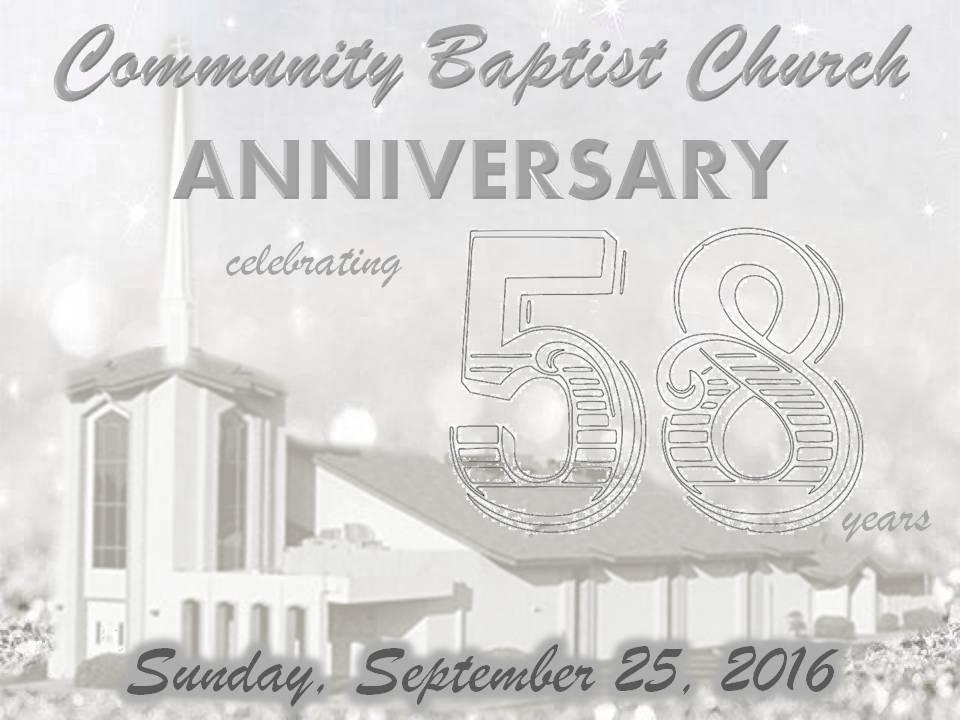 58 Anniversary